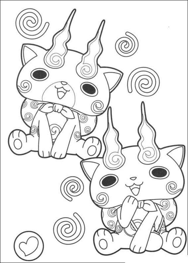 Dibujos para colorear Y kai imprimible