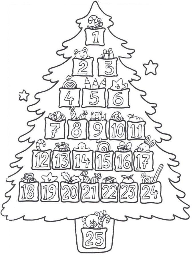 Ausmalbilder: Advent zum ausdrucken, kostenlos, für Kinder und ...