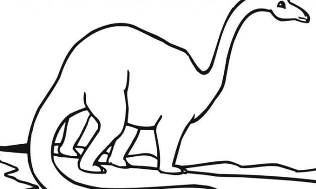 Coloring pages: Brachiosaurus