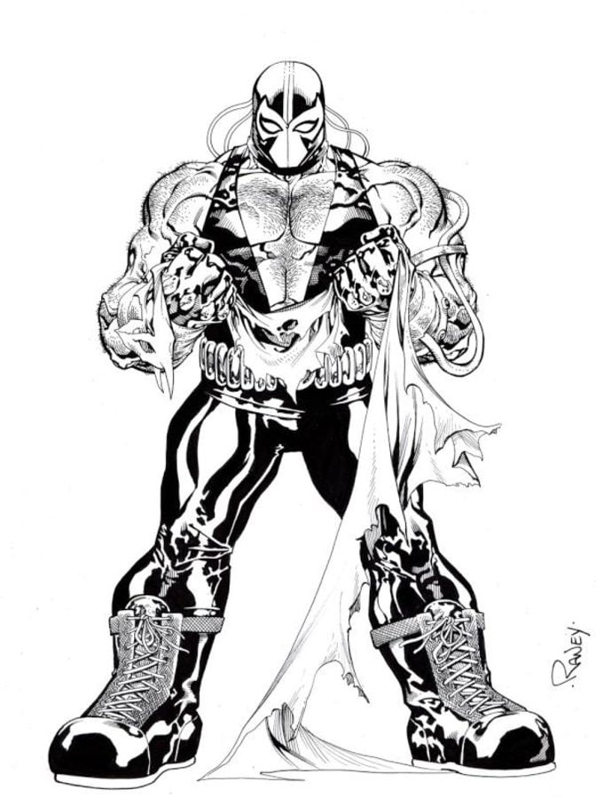 Coloring Pages Bane Printable For Kids Amp Adults Free