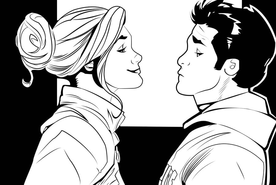 Coloring pages Coloring pages Carol Danvers Captain