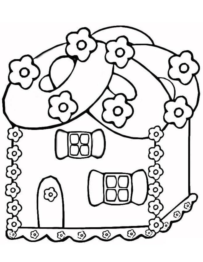 Disegni da colorare disegni da colorare pan di zenzero for Disegni di casa da stampare e colorare