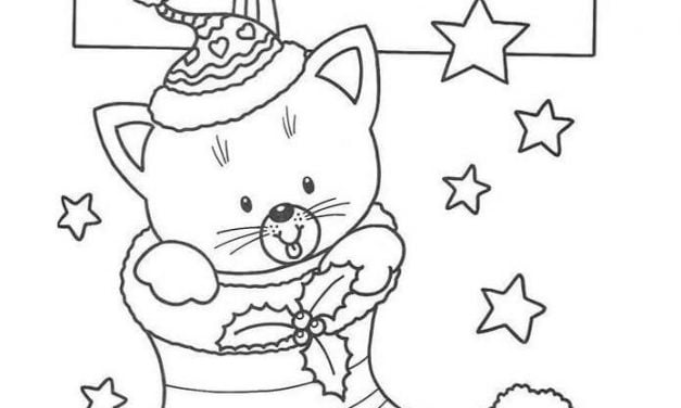 Coloring pages: Christmas Stockings