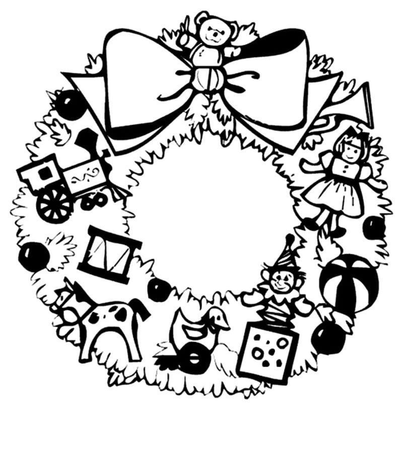 Картинка черно белая новый год