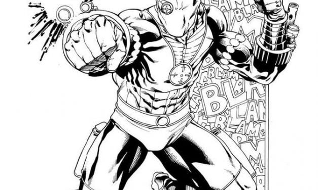 Coloring pages: Deadshot