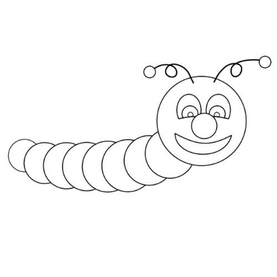 ausmalbilder ausmalbilder regenwürmer zum ausdrucken