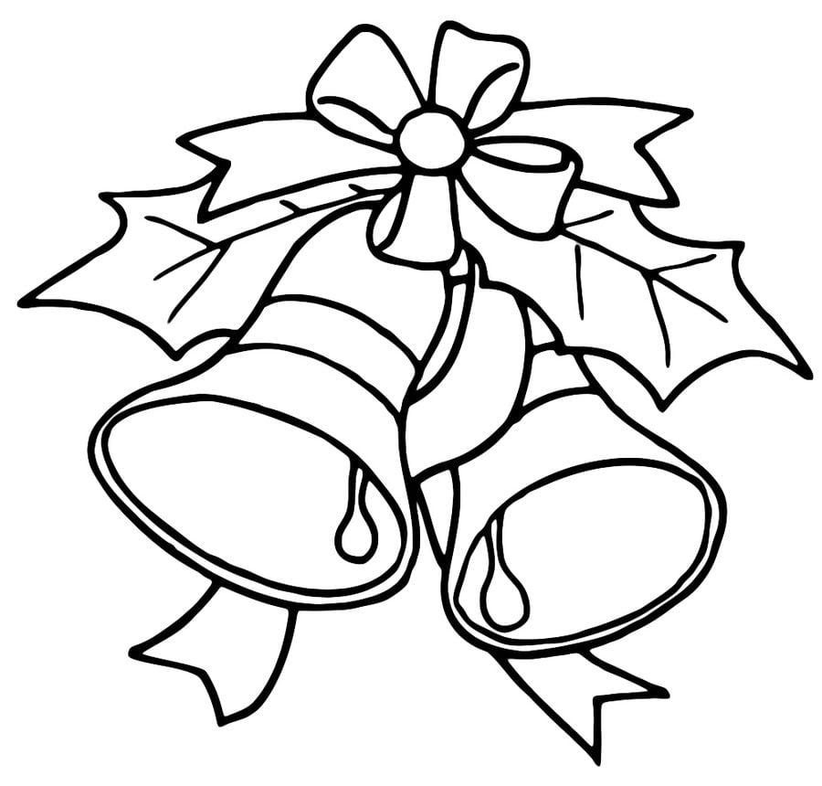 ausmalbilder weihnachtsglocken zum ausdrucken kostenlos. Black Bedroom Furniture Sets. Home Design Ideas