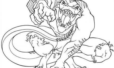 Ausmalbilder: Lizard / Curt Connors