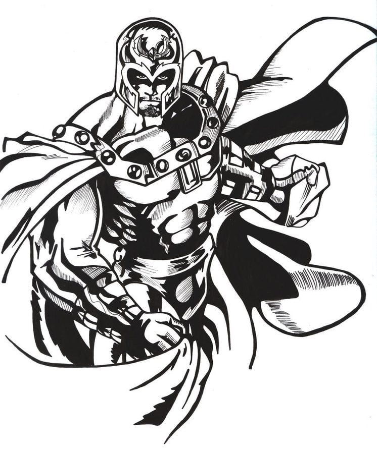 Coloring Pages Coloring Pages Magneto Printable For