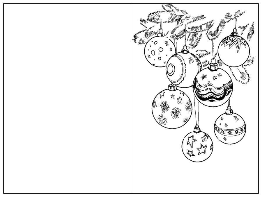 Ausmalbilder Ausmalbilder Weihnachtskarten Zum Ausdrucken