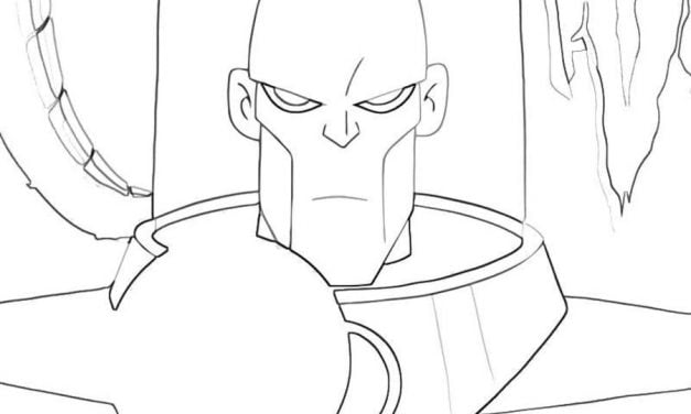 Coloring pages: Mr. Freeze