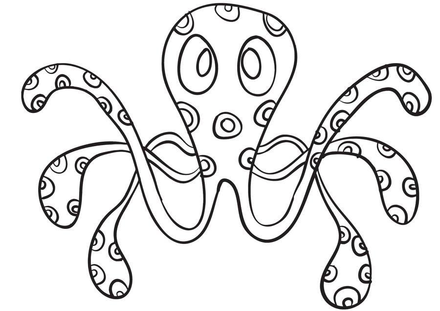 disegni da colorare disegni da colorare polipo