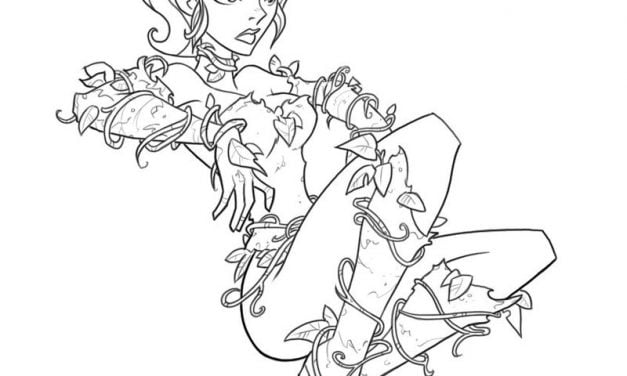 Coloring pages: Poison Ivy