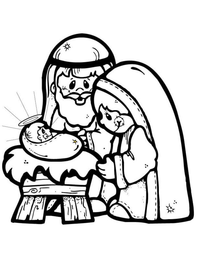 Ausmalbilder Ausmalbilder Weihnachtsgeschichte Zum Ausdrucken