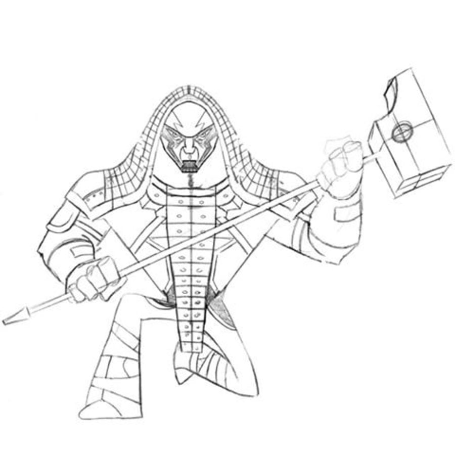 coloring pages ronan the accuser printable for kids u0026 adults free