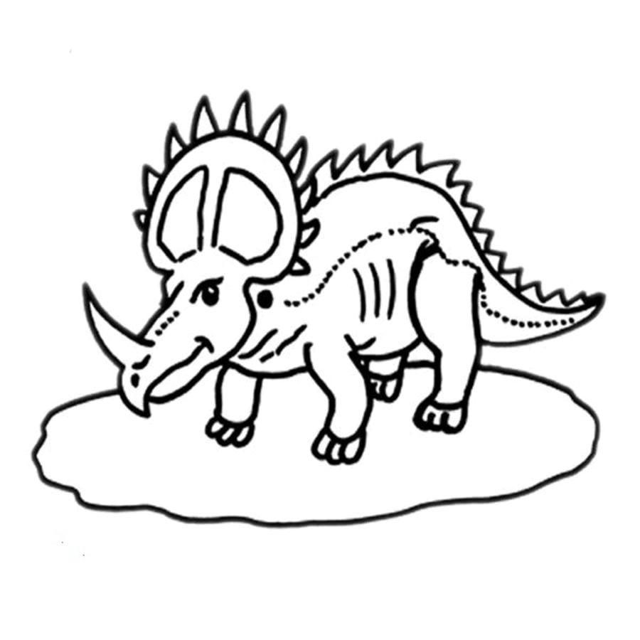 Ausmalbilder Tiere Dinosaurier : Ausmalbilder Styracosaurus Zum Ausdrucken Kostenlos F R Kinder