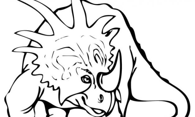 Coloring pages: Styracosaurus