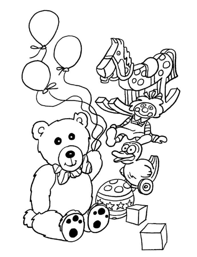kolorowanki kolorowanki pluszowy miś do druku dla dzieci