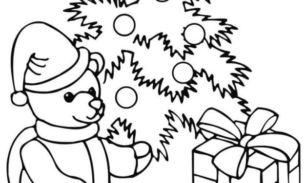 Coloring pages: Teddy Bear