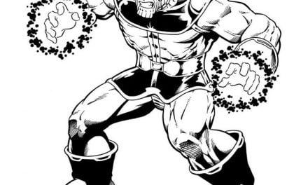 Ausmalbilder: Thanos