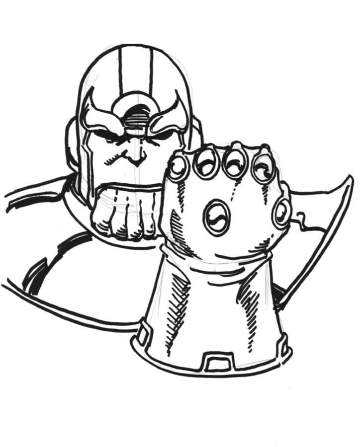 Superhero Thanos Coloring Pages: Coloring Pages: Coloring Pages: Thanos, Printable For Kids