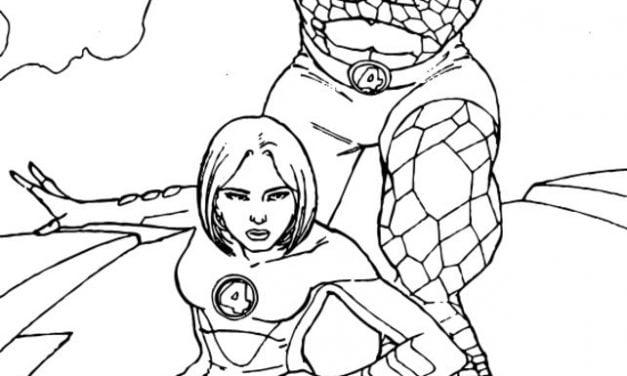Dibujos Para Colorear Wolverine Imprimible Gratis Para
