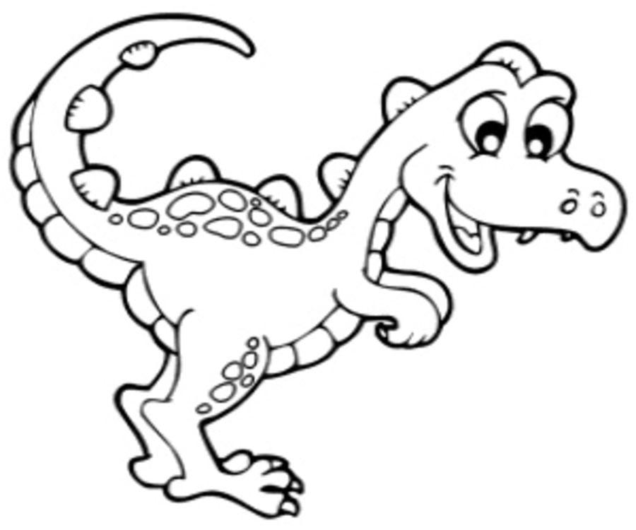Disegni Da Colorare: Disegni Da Colorare: Velociraptor