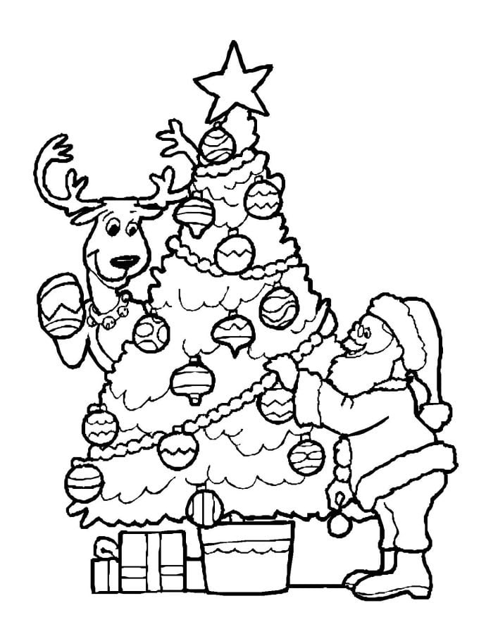 christmas coloring pages free coloring pages - 690×900