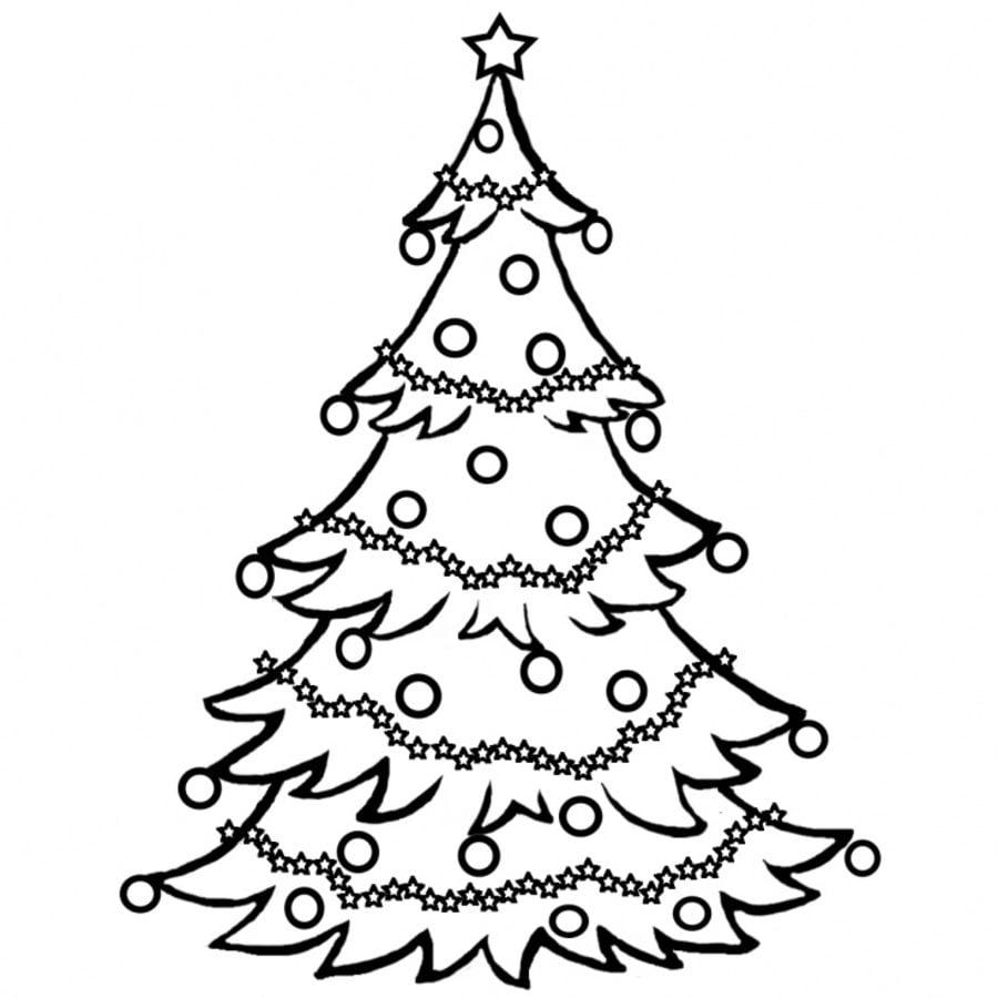 Kolorowanki Boże Narodzenie Choinka Bijzonderjezelf