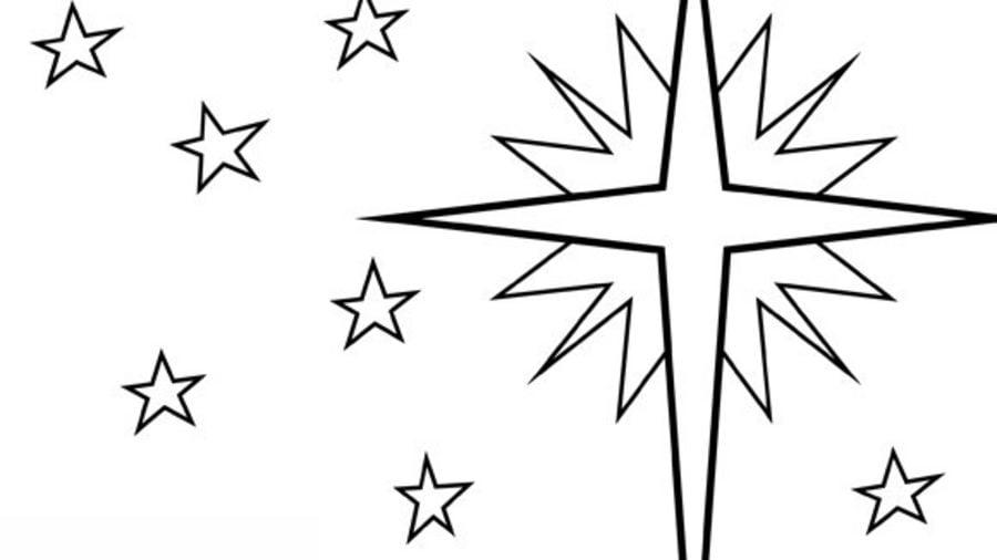 вифлеемская звезда картинки как нарисовать того момента
