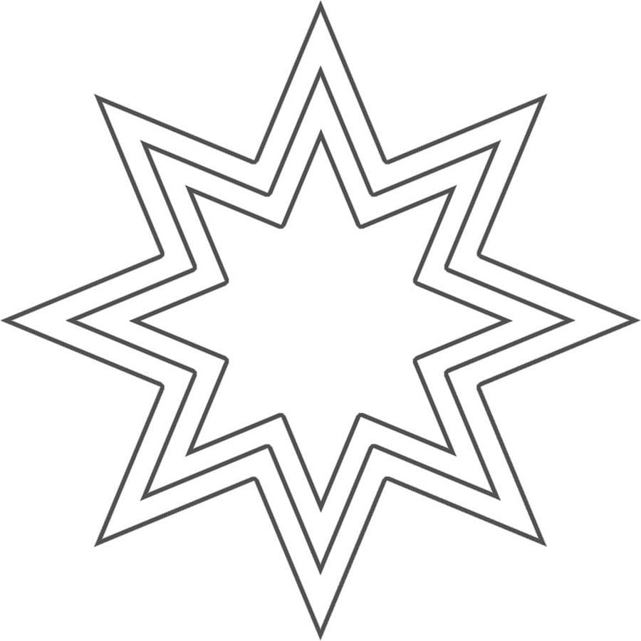 ausmalbilder ausmalbilder stern zum ausdrucken kostenlos f r kinder und erwachsene. Black Bedroom Furniture Sets. Home Design Ideas