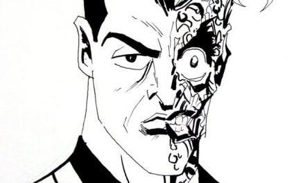 Ausmalbilder: Two-Face