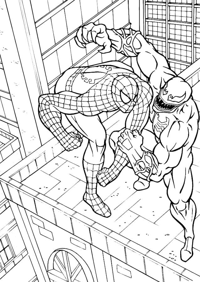 Coloring Pages Coloring Pages Venom Printable For Kids Adults