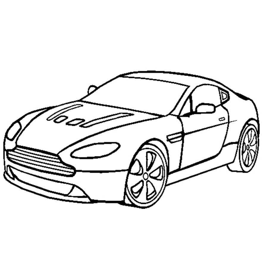 Ausmalbilder Aston Martin Zum Ausdrucken Kostenlos F R Kinder Und