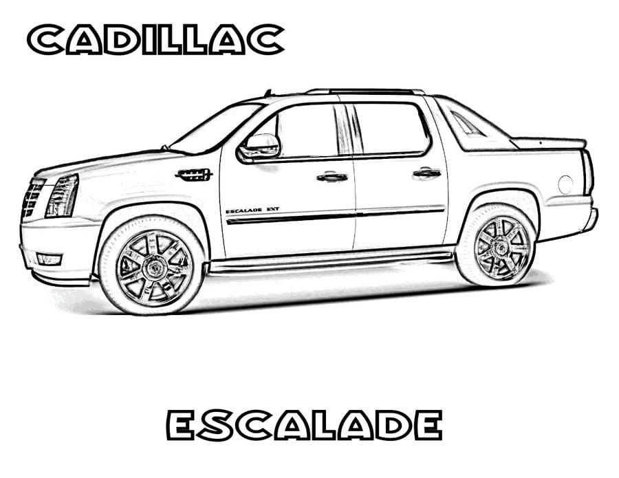 Ausmalbilder Ausmalbilder Cadillac Zum Ausdrucken Kostenlos Für