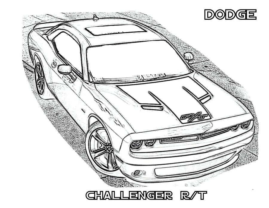 Coloring Pages Coloring Pages Dodge Printable For Kids