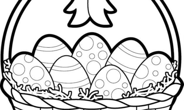 Nadajacy Sie Do Druku Baranek Wielkanocny Kolorowanka Najlepsze