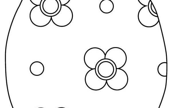 Coloring pages: Easter Eggs