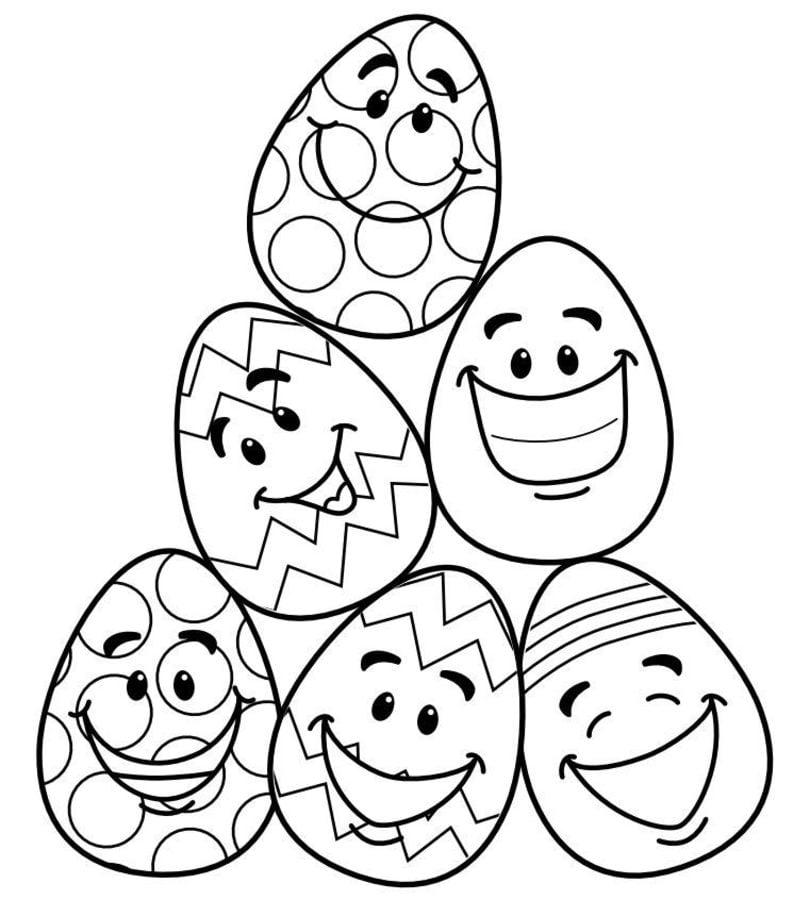 Wielkanoc Kolorowanki Święta Wielkanoc