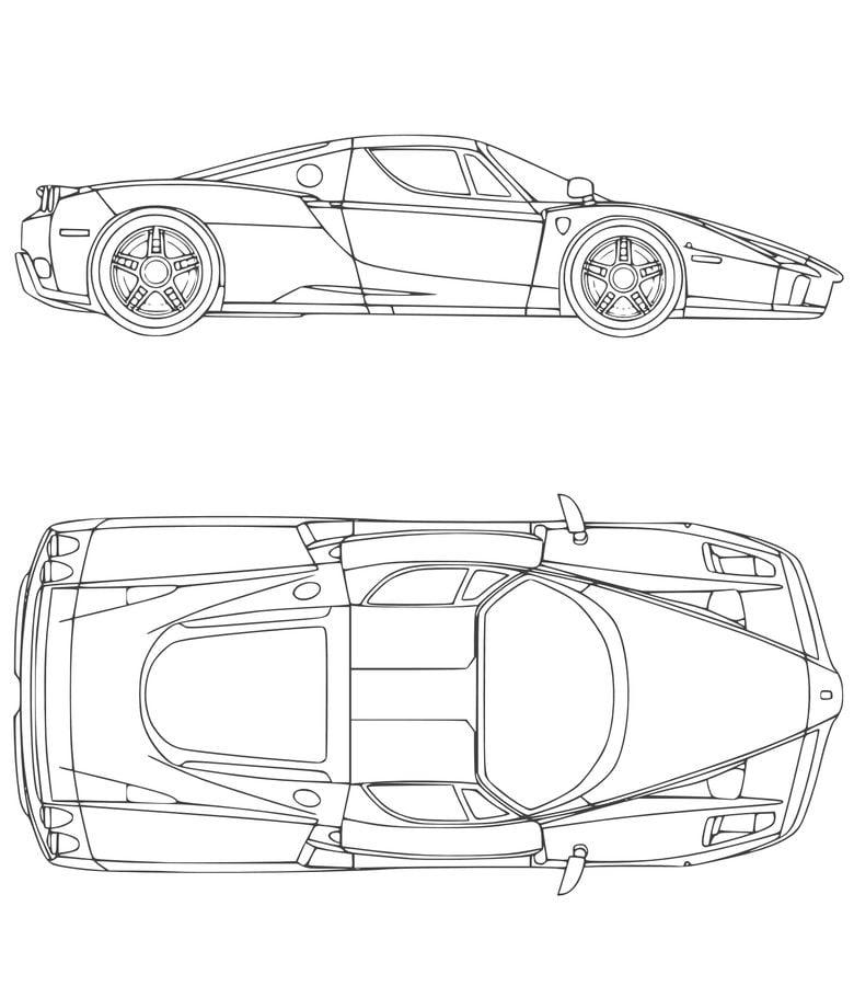 Disegni Da Colorare Disegni Da Colorare Ferrari Stampabile