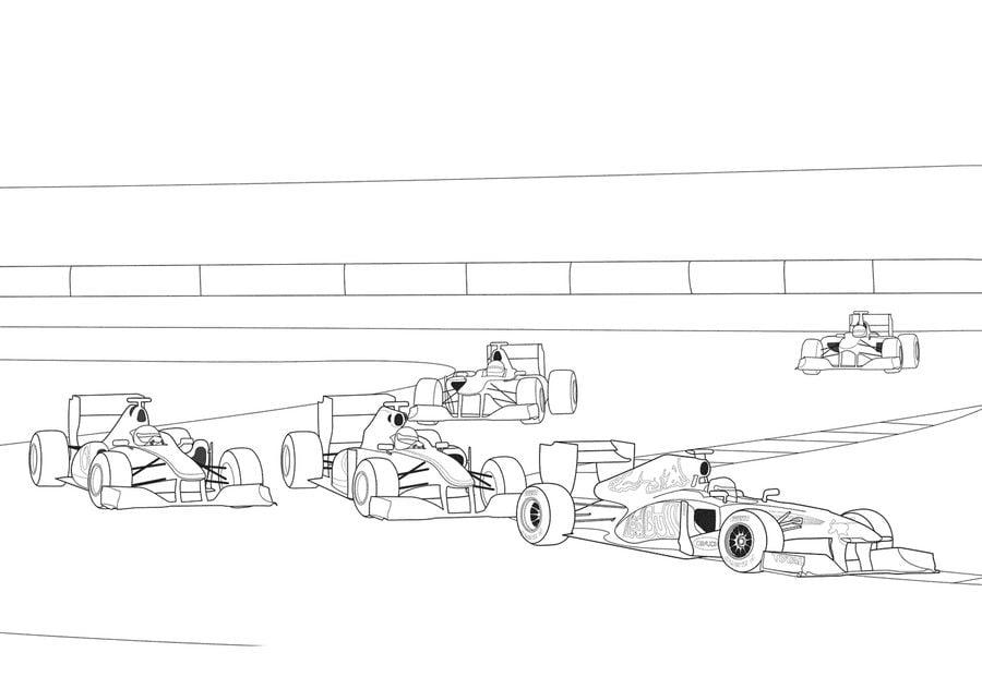 Kleurplaat Formule 1 Red Bull 2017 Disegni Da Colorare Formula 1 Stampabile Gratuito Per