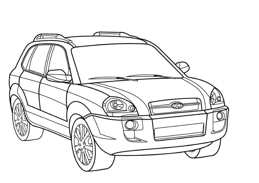 Ausmalbilder Hyundai Zum Ausdrucken Kostenlos F 252 R