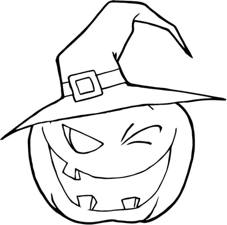 Kürbis Ausmalbilder Halloween : Ausmalbilder Halloween K Rbis Laterne Zum Ausdrucken Kostenlos