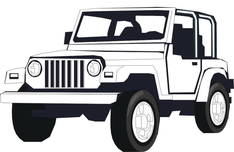 Ausmalbilder Ausmalbilder Jeep Zum Ausdrucken Kostenlos Für