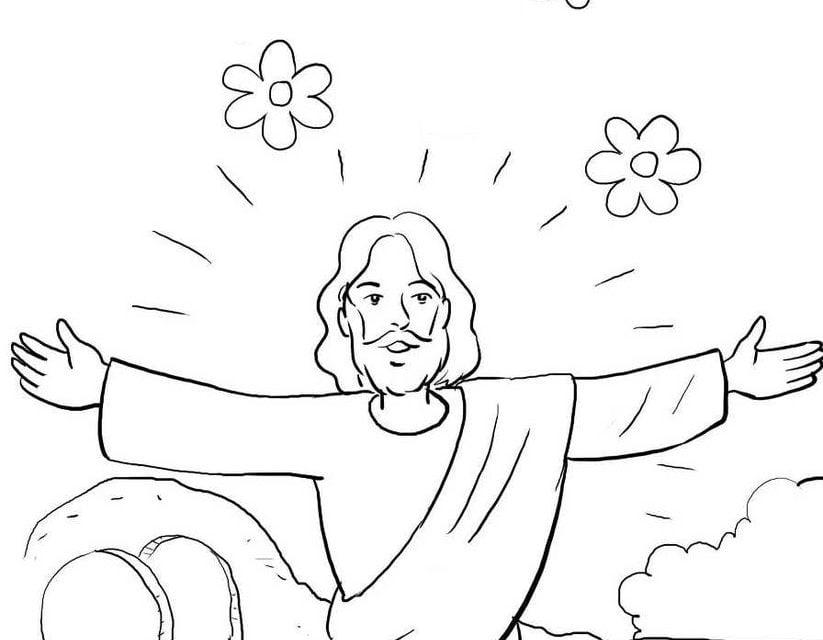 ausmalbilder jesus kostenlos