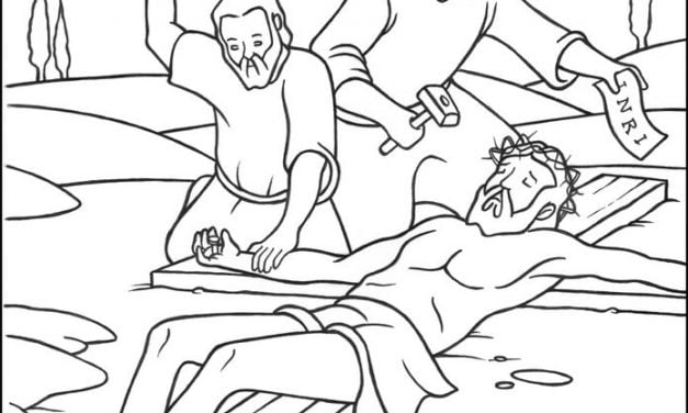 Coloring pages: Jesus Stations of the Cross