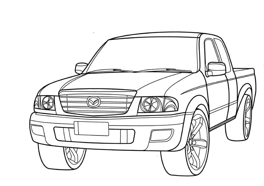 coloring pages  coloring pages  mazda  printable for kids  u0026 adults  free