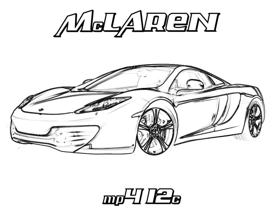 Coloring Pages Coloring Pages Mclaren Printable For Kids Adults