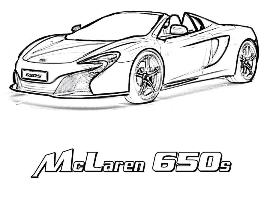 Coloring Pages Coloring Pages Mclaren Printable For Kids