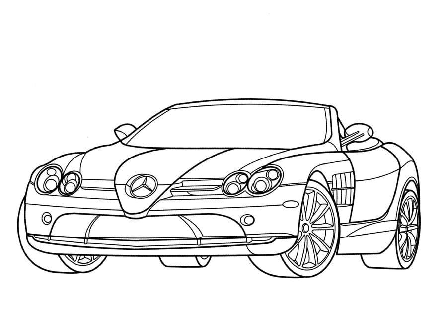 Ausmalbilder: Mercedes zum ausdrucken, kostenlos, für Kinder und ...